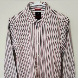 Victorinox button frong shirt size small